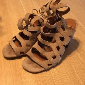 Franco sarto cut out heels